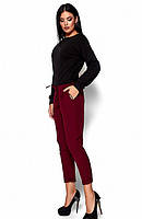 Яркие женские брюки Мисса марсала  (S-L), фото 1