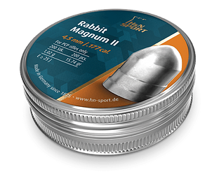 Пули для пневматики H&N Rabbit Magnum II 1.02 гр 4.5 мм (200 шт)