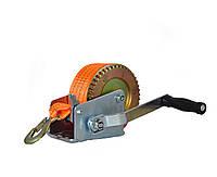 Лебедка ручная ленточная Polax 50 мм х 10м 1200 lbs (500 кг) (01-006)
