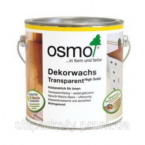 Osmo 3143 Коньяк Dekorwachs Transparent (Осмо, Германия)