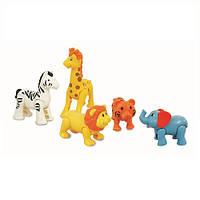 Игровой набор - Дикие Животные KiddielandPreschool g054106