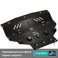 Защита двигателя, КПП и радиатора на Nissan Qashqai (Кольчуга)