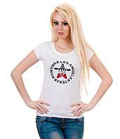Футболка женская Звезда белая, фото 1