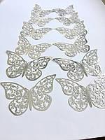 Декоративные бабочки на стену 12 шт