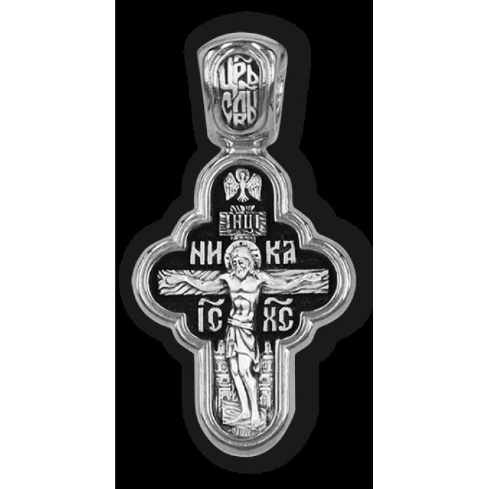 Крест Распятие Христово. Владимирская икона Божией Матери