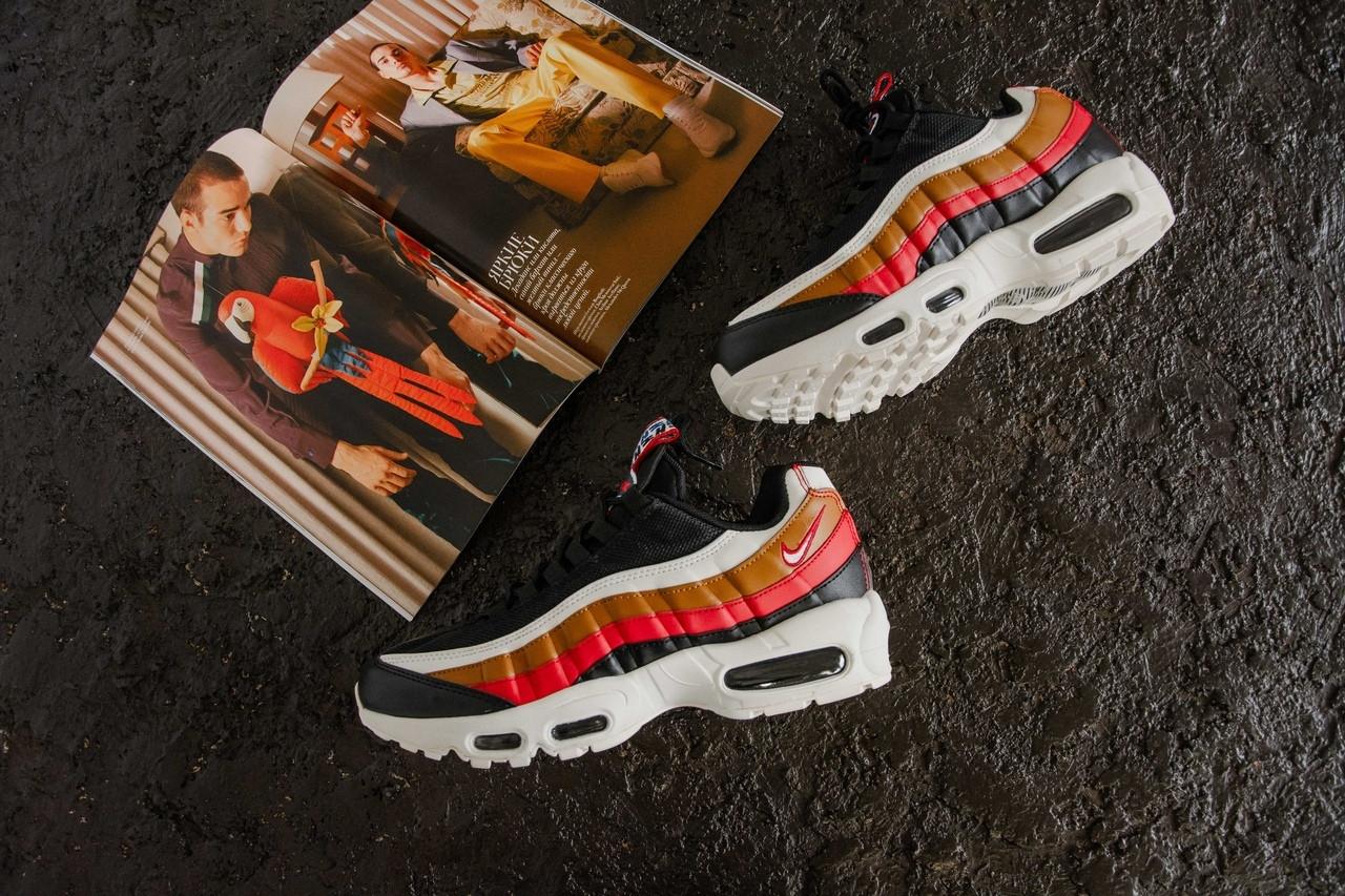 9192e1fa Кроссовки Мужские Nike Air Max 95 Multicolor (реплика) — в Категории ...