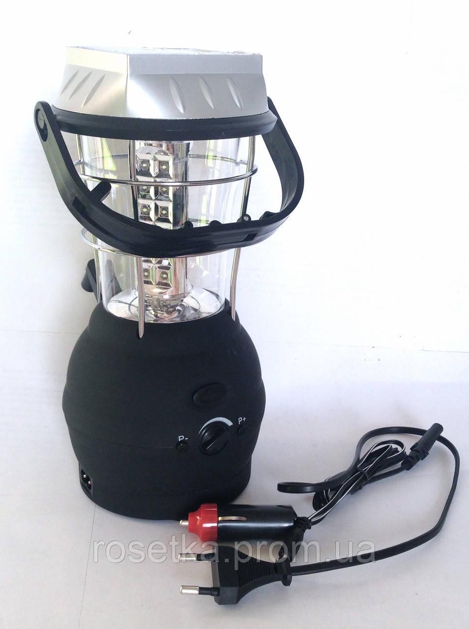 Ліхтар світлодіодний акумуляторний LT-768R від прикурювача