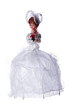 ДЕТСКАЯ МУЗЫКАЛЬНАЯ ЛАМПА КУКЛА (белая, красная, розовая, фиолетовая)