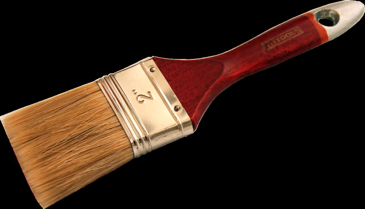 """Кисть флейцевая тип  """"Евро"""",   деревянная ручка  1,5"""""""