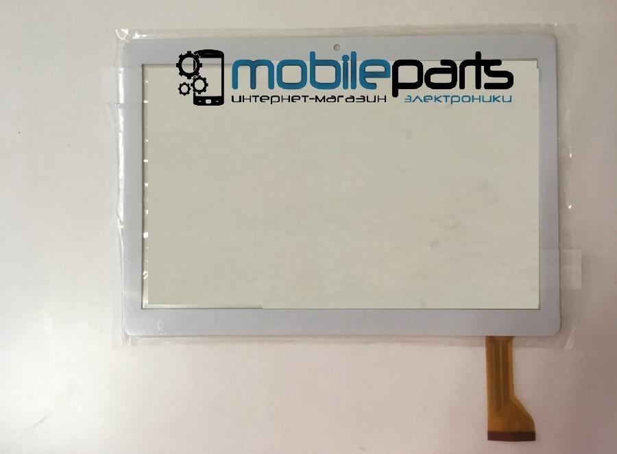 """Оригинальный Сенсор (Тачскрин) для планшета 10.1"""" TurboPad 1015 50pin (238x165mm) (Белый)"""