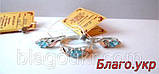 Комплект ЗАР-10 из серебра с золотыми накладками - Серьги и кольцо, фото 8
