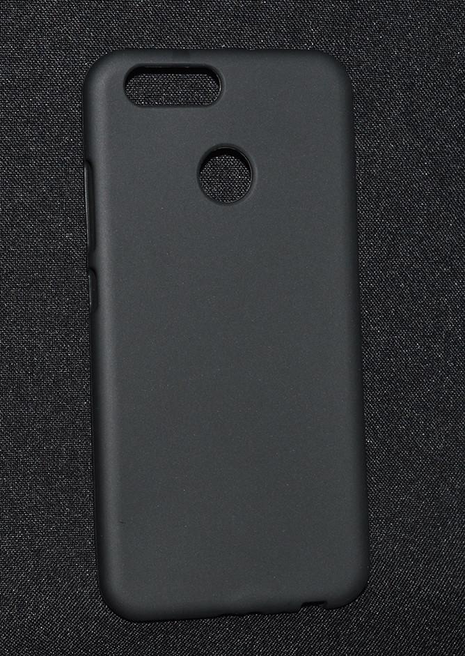 """Накладка Huawei Nova 2 """"Soft touch"""" Черная"""