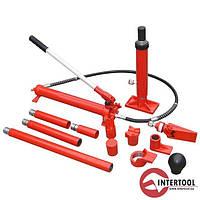 Комплект распорок гидравлических INTERTOOL GT0202 (10т)