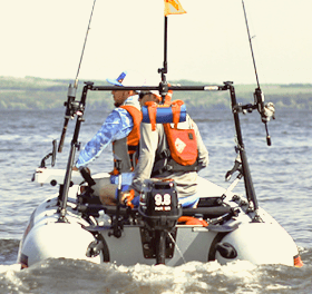 Кормовая навигационная дуга для троллинга на лодку ПВХ - тарга Borika FASTen