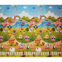 Коврик в детскую комнату Babypol Веселая ферма 150х180 см