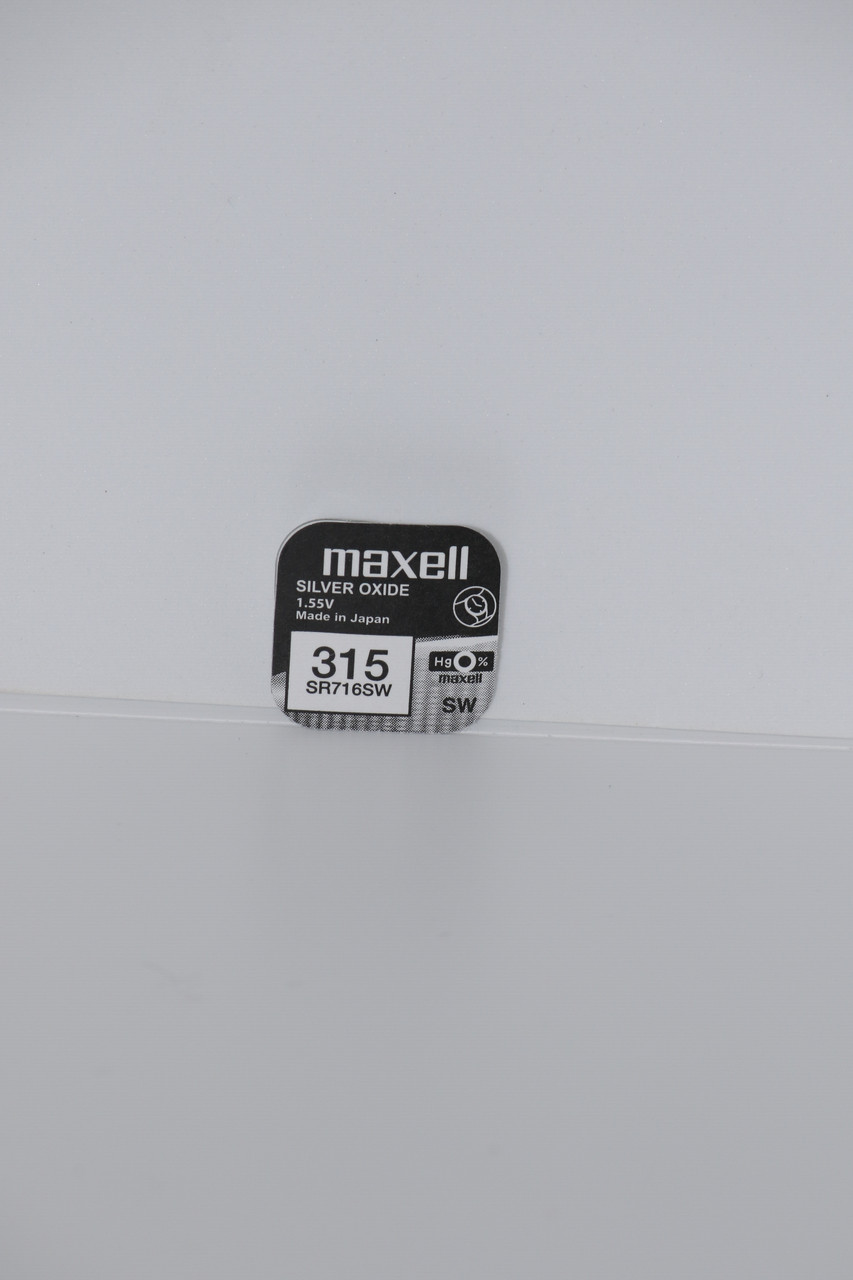 Часовая батарейка Maxell SR716SW 1PC  EU (315)