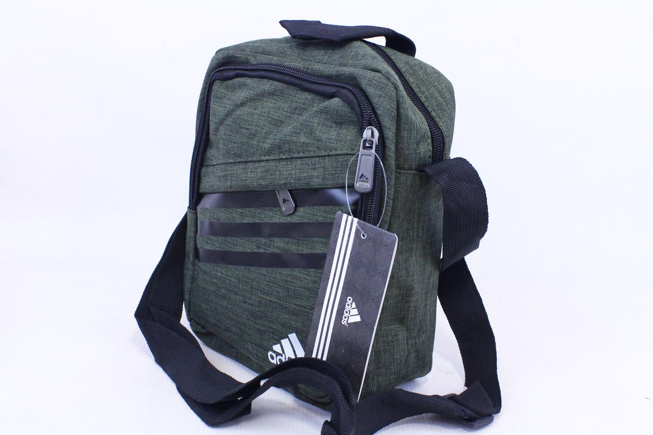 Сумка через плечо с логотипом «Adidas 5854» (реплика)