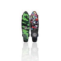 "Пени борд со светящимися колосами - скейт Penny board Vantage 24""  Explore оригинал, фото 1"