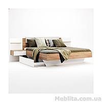 Кровать 1,6х2,0 с тумбами Asti (с каркасом и ящиком)
