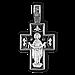 Крест Распятие Христово. Покров Пресвятой Богородицы, фото 2