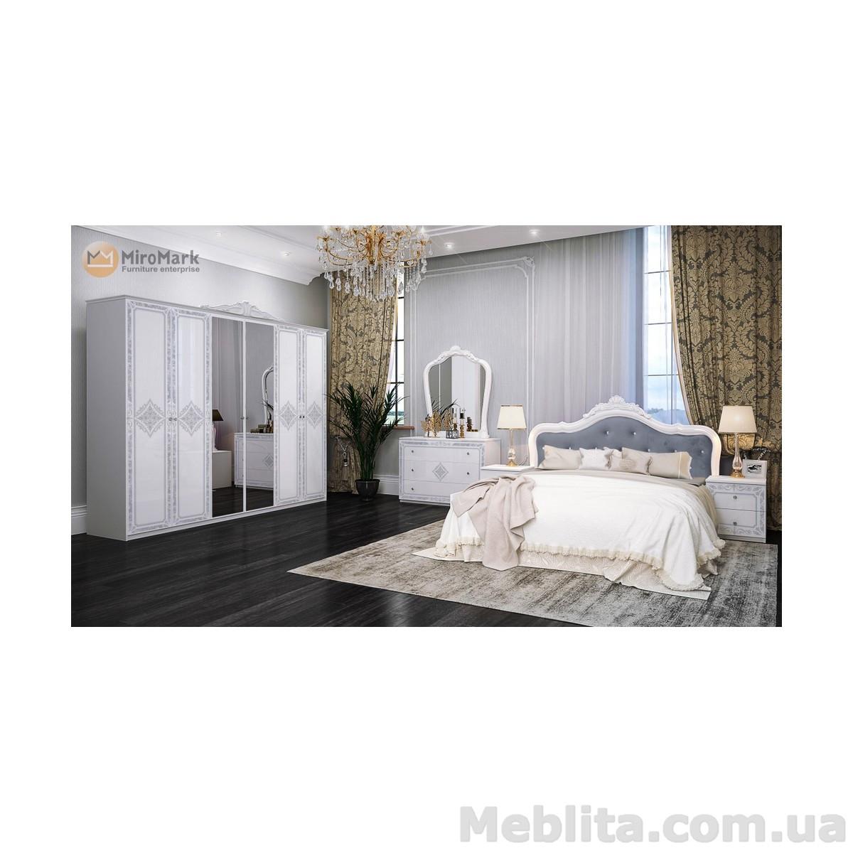 Спальный гарнитур Luiza Глянец белый