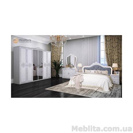 Спальный гарнитур Luiza Глянец белый, фото 2