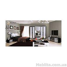 Спальный гарнитур Viola Глянец белый-черный мат, фото 3