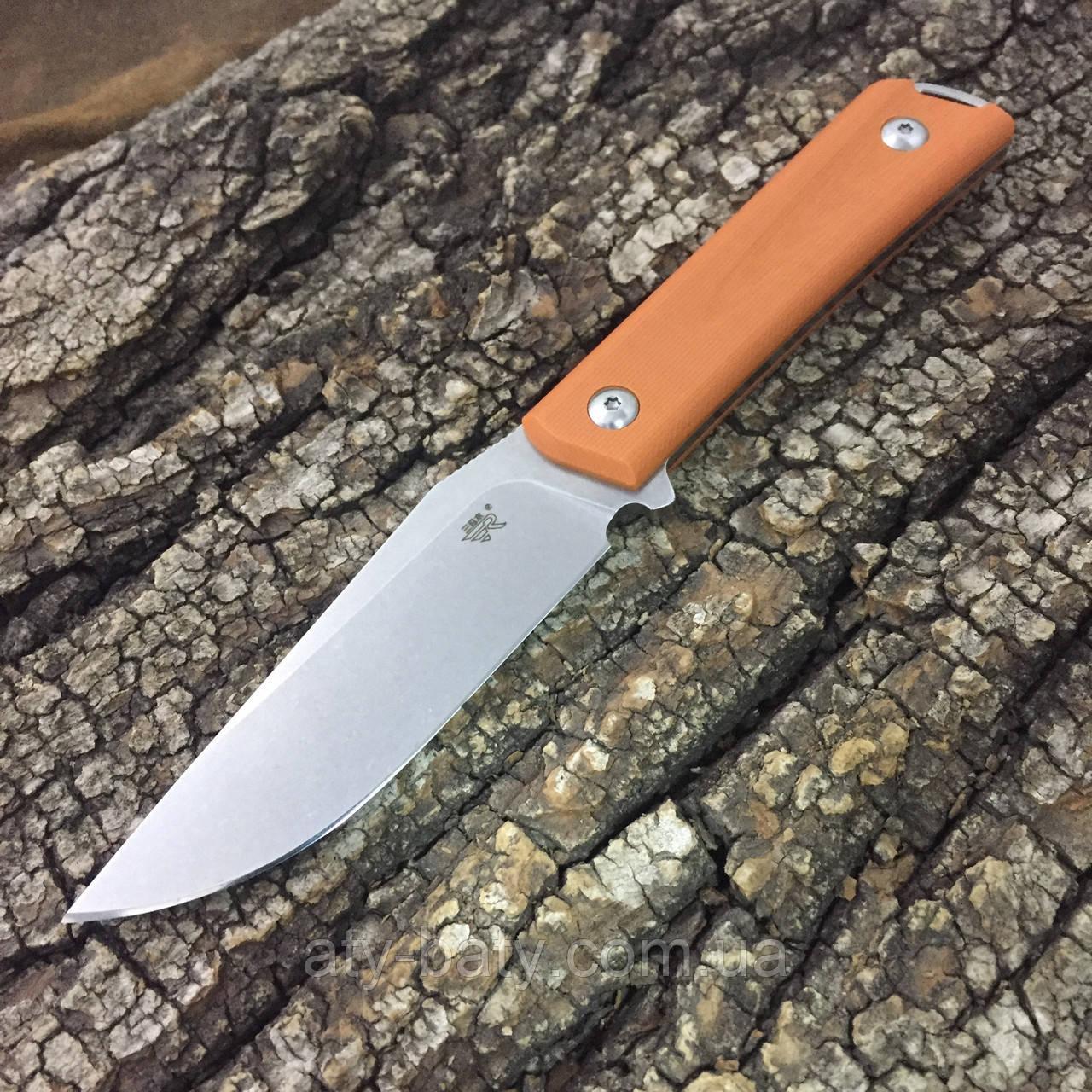 Нож Sanrenmu S611-4, оранжевый