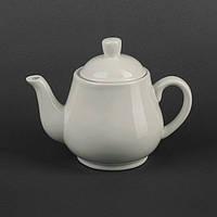 Чайник керамический белый 700 мл