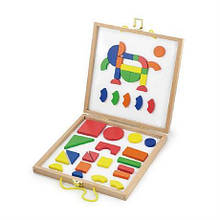 Набор магнитных блоков Viga Toys Формы и Цвет 59687