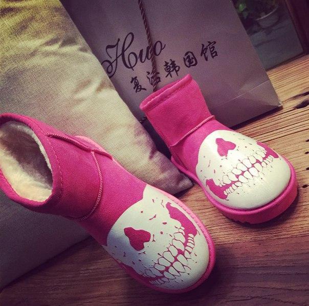 0063ac9a Розовые теплые угги с мехом, цена 520 грн., купить в Житомире — Prom ...
