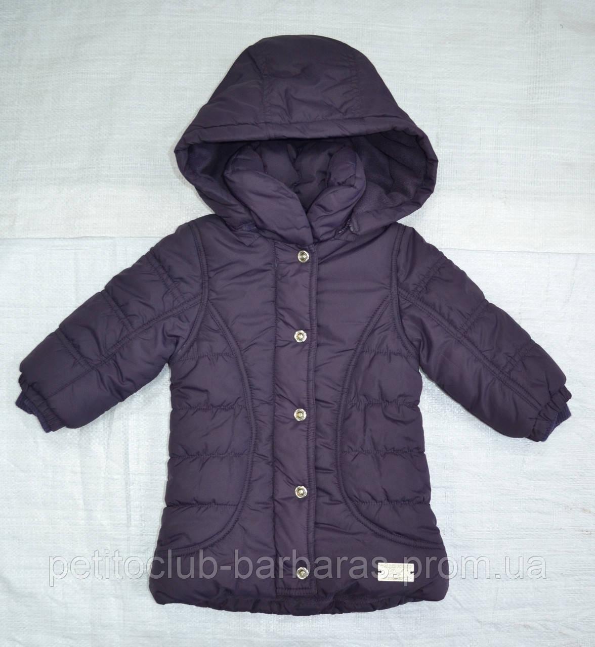 Куртка зимняя для девочки MILLA фиолетовая (QuadriFoglio, Польша)