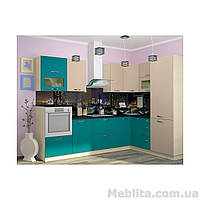 Кухня с фасадом Тренто (280х180 см)