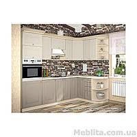 Кухня с фасадом Лилия (260х150 см)