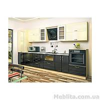 Кухня с фасадом Тиффани (360 см)