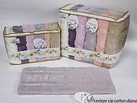 Набор полотенец Cestepe Vip Cotton Sauna Diana махра 90*150см 6шт