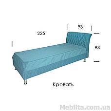 Кровать Меган Односпальная , фото 2