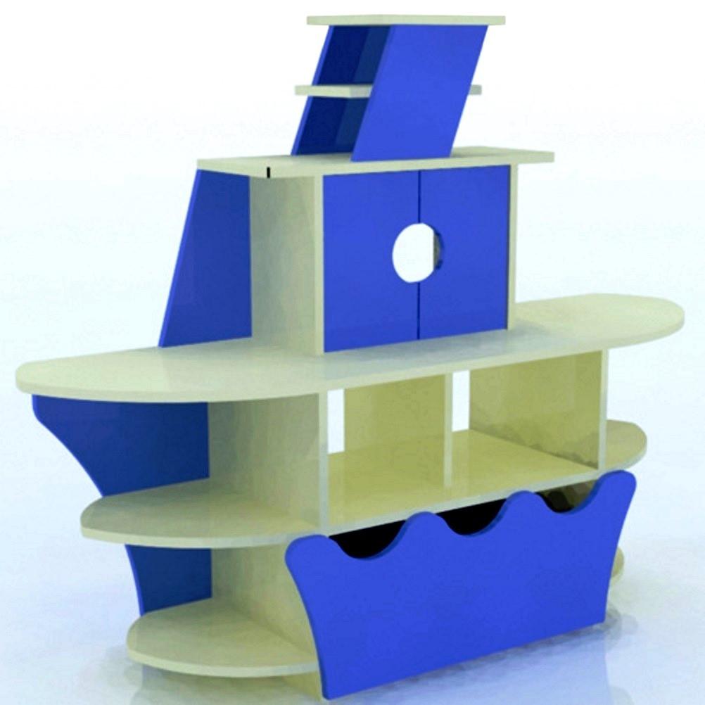 Детская игровая стенка для игрушек Design Service Кораблик (329)