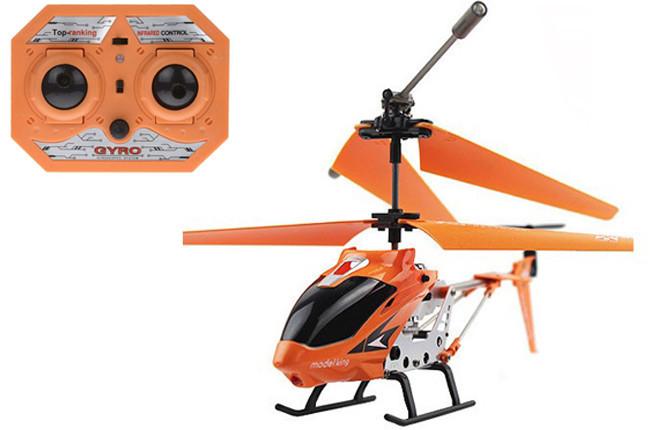 Детская игрушка Вертолет радиоуправляемый 33008 Model King Оранжевый