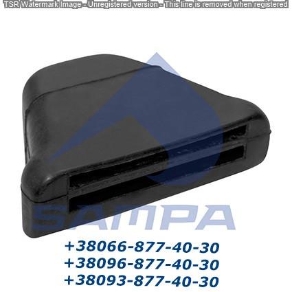 Подушка рессоры МВ 46x134x94