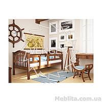 Кровать из массива дерева детская Максим