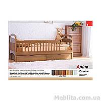 Кровать детская из массива дерева Арина