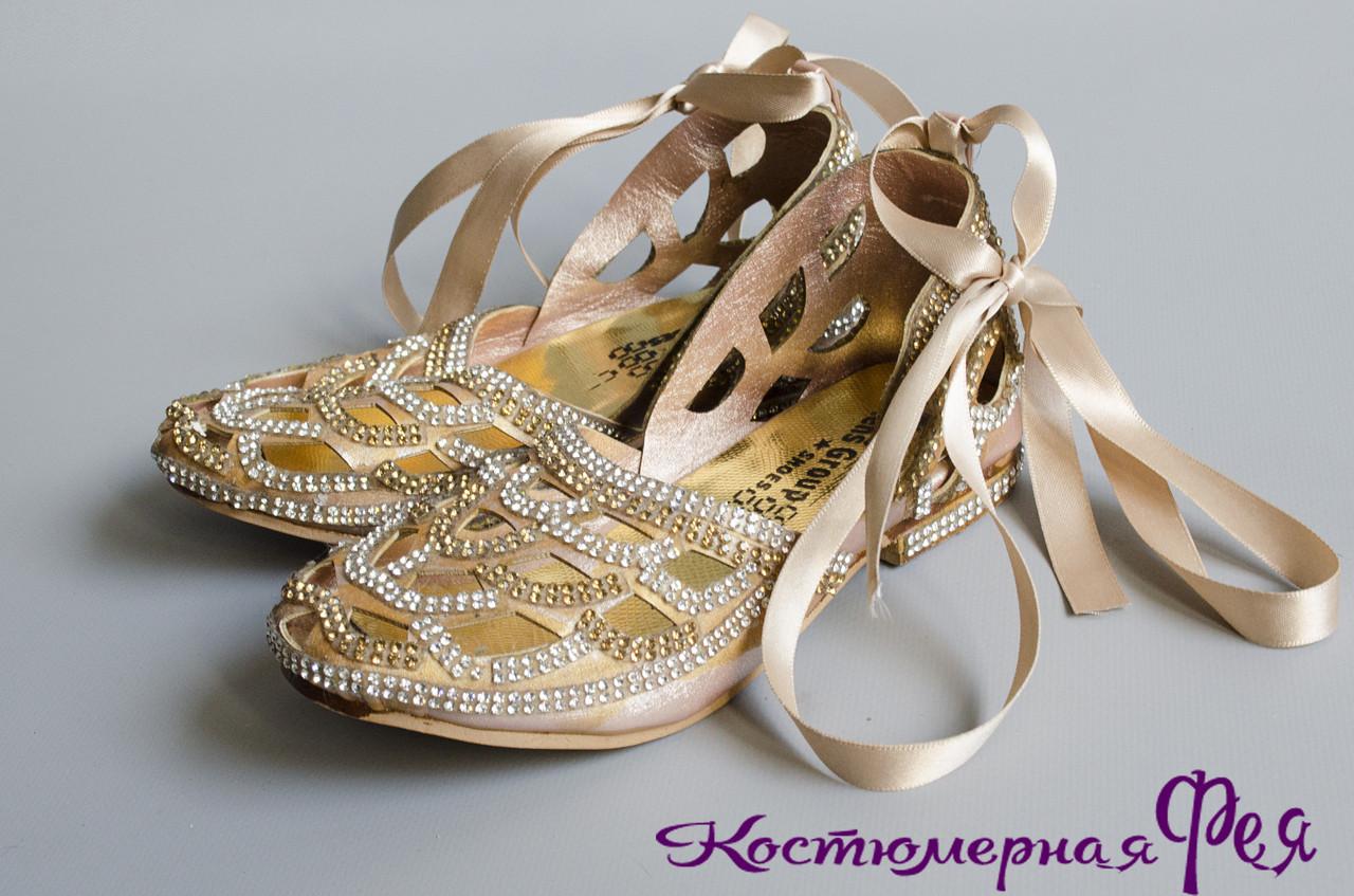 Обувь детская нарядная (артикул №1)