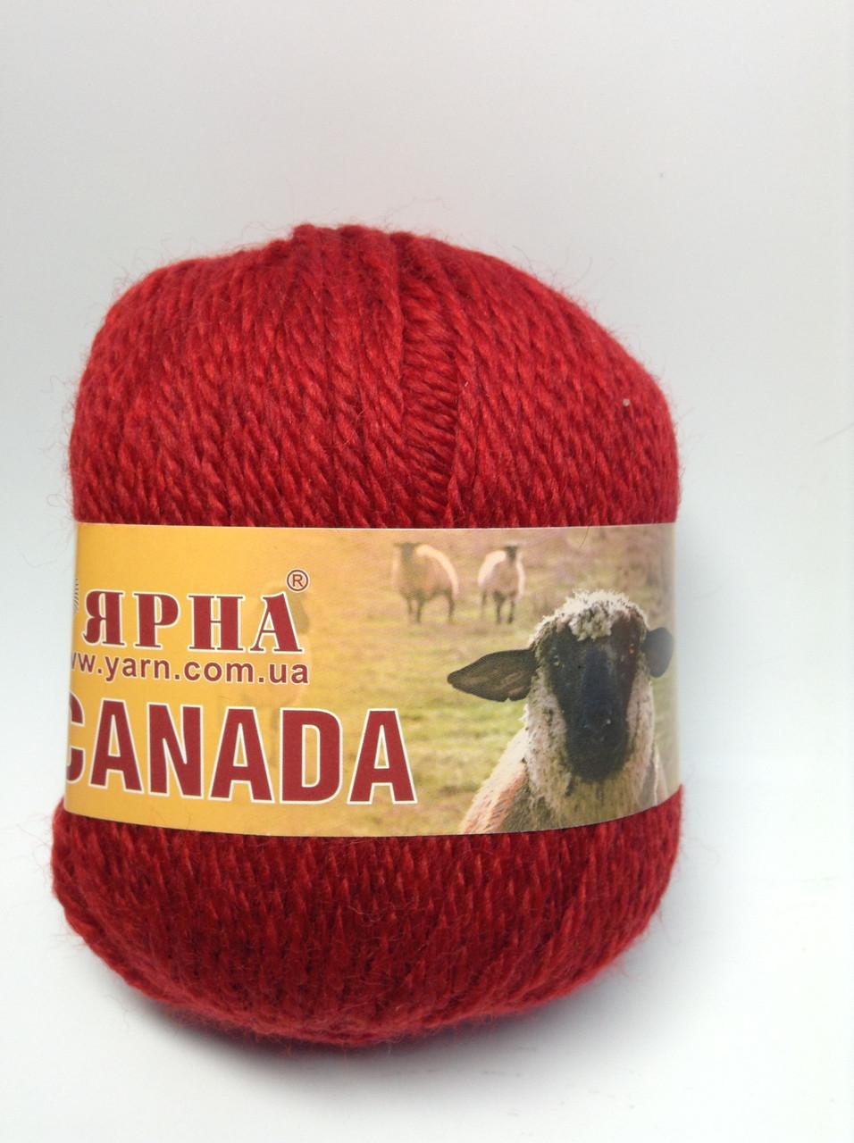 Пряжа Canada Китай (70%-шерсть)