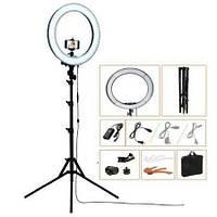Профессиональная кольцевая светодиодная LED лампа 35 см