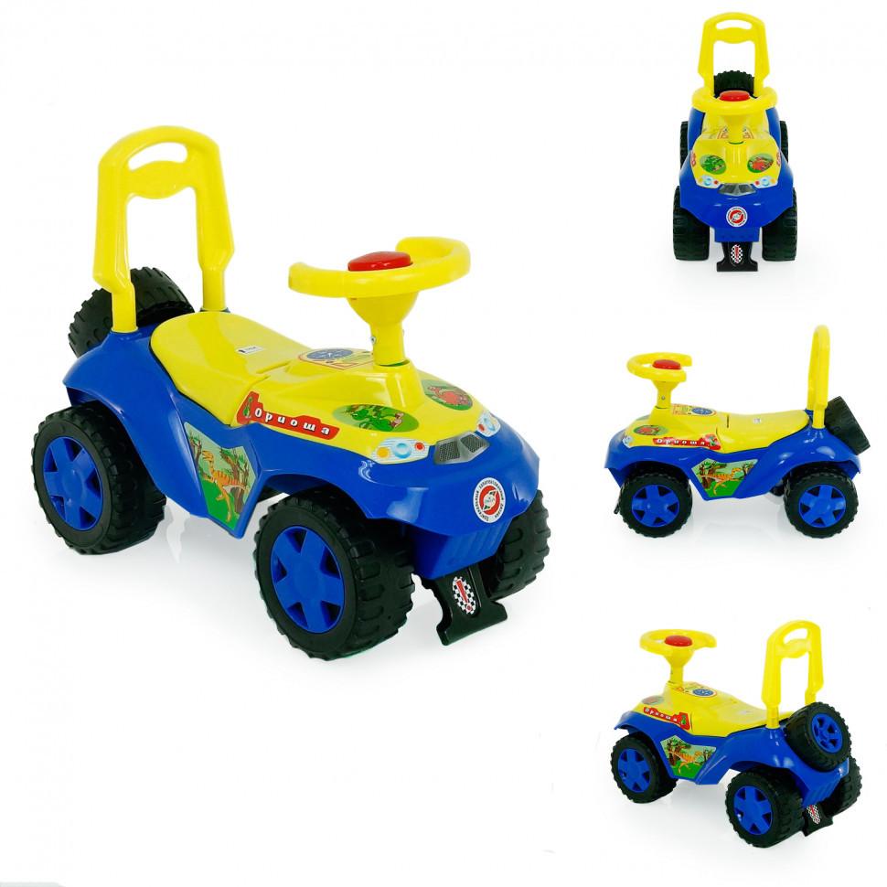 Детская игрушка Каталка - толокар Дракончик 198B Синий