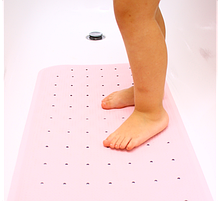 Детский антискользящий коврик розовый Aquababy