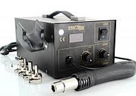 Термовоздушная паяльная станция KRAFT&DELE KD851 100-450°C LED 400W