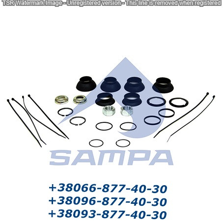 Ремкомплект разжимного вала DAF 1602395