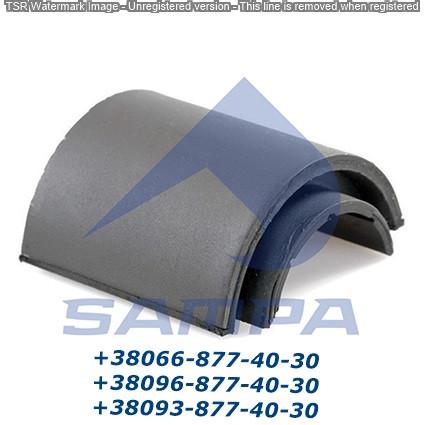 Втулка стабилизатора F (1/2 ) IVECO Euroteсh